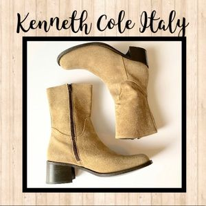 🌻Kenneth Cole Italian Suede Boots